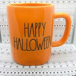 Happy Halloween Bright Orange Rae Dunn Mug